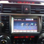Toyota 4 Runner Перевод монитора