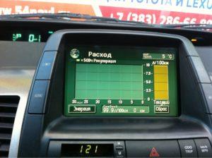 Prius USA 2008-Л/100км