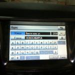 Lexus LX570 Навигация